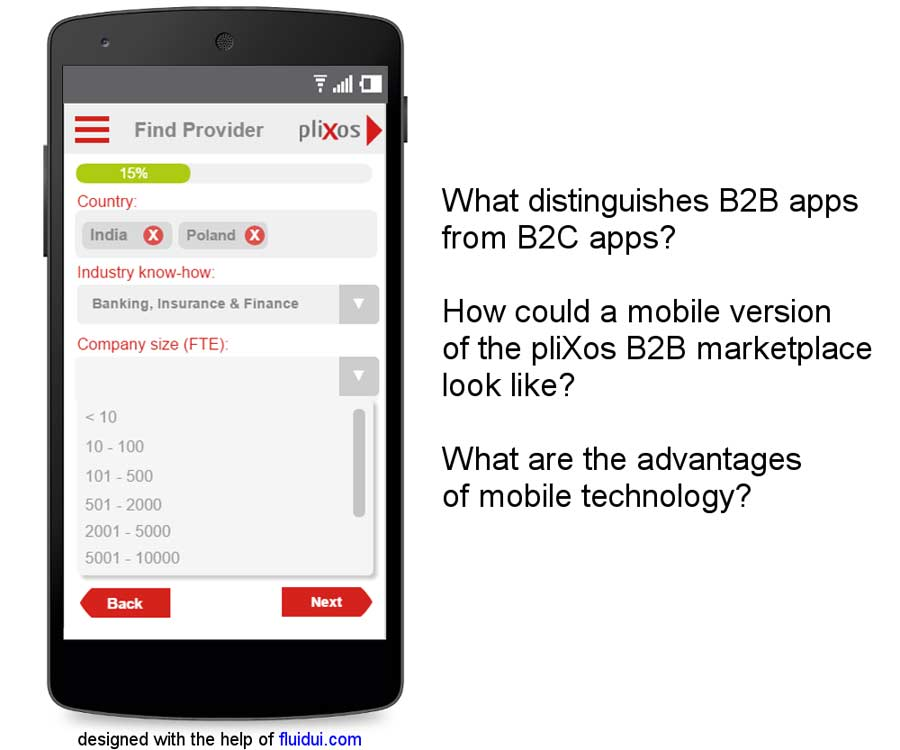 PIC pliXos Article on B2B Marketplace goes Mobile