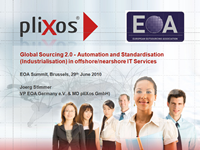 Global Sourcing 2.0 - Automation and Standardisation (Industrialisation) in offshore/nearshore IT Services