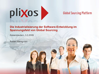 Global Sourcing and the industrialization of Software-Entwicklung