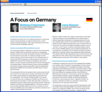 Outsourcing Yearbook 2011 - A Focus on Germany